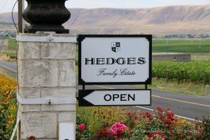 Red Mountain AVA, I searched for a vineyard using biodynamic practices. Sarah Hedges Goedhart and Hedges Family Estate