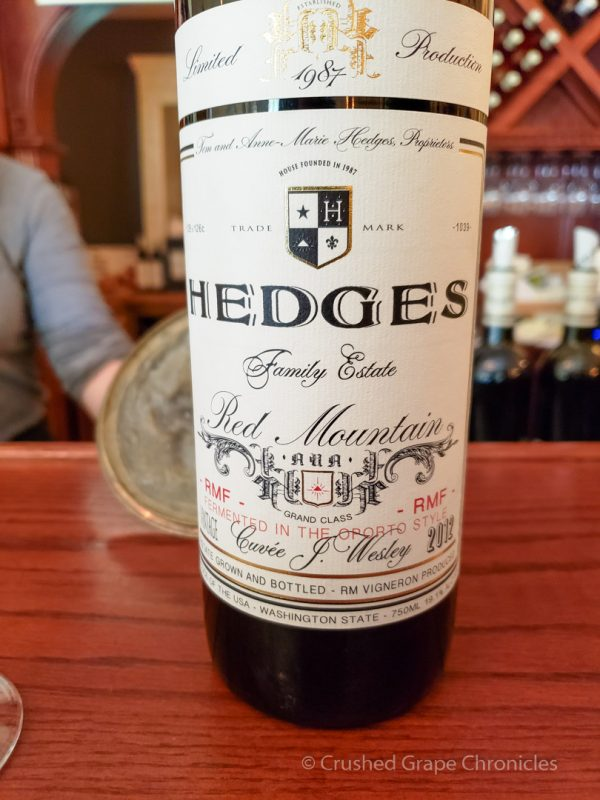 Hedges Family Estate Red Mountain Washington