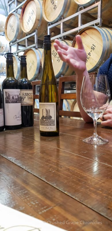 Tasting with Brandon at Owen Roe