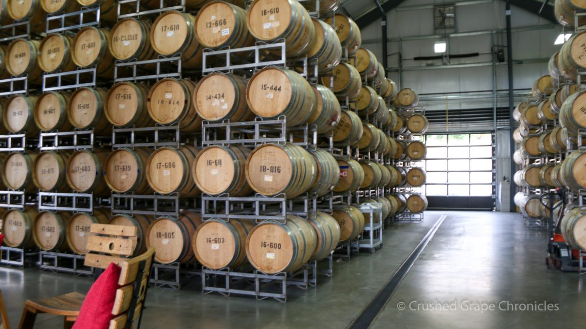 Barrels, Owen Roe, Yakima Valley, Tasting Room, Barrel Room, Union Gap