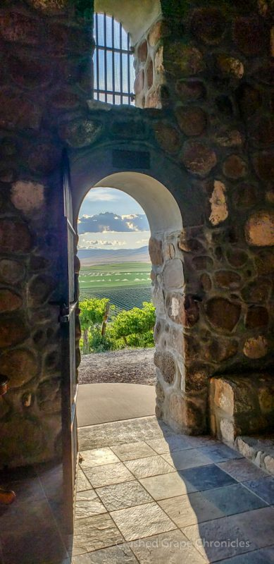 The view from inside the Chapel at Red Willow