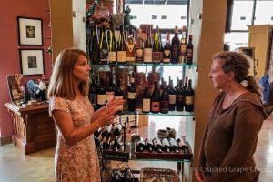 Stems Wine Shop in Downtown Yakima, Washington