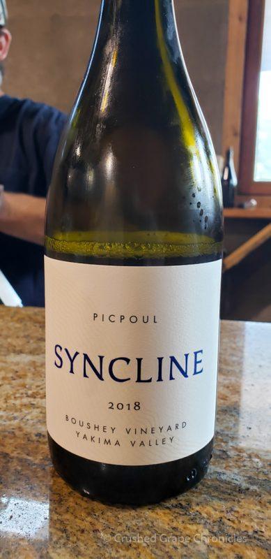 Syncline Picpoul boushey Vineyard