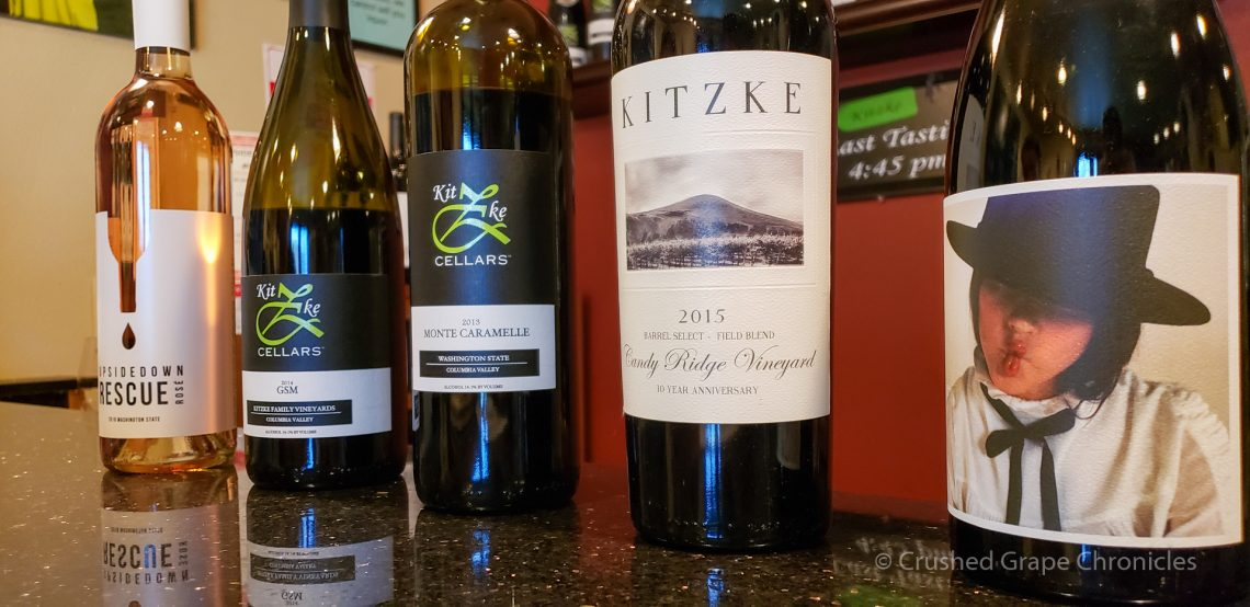 Great Washington Wine at Kitzke Cellars
