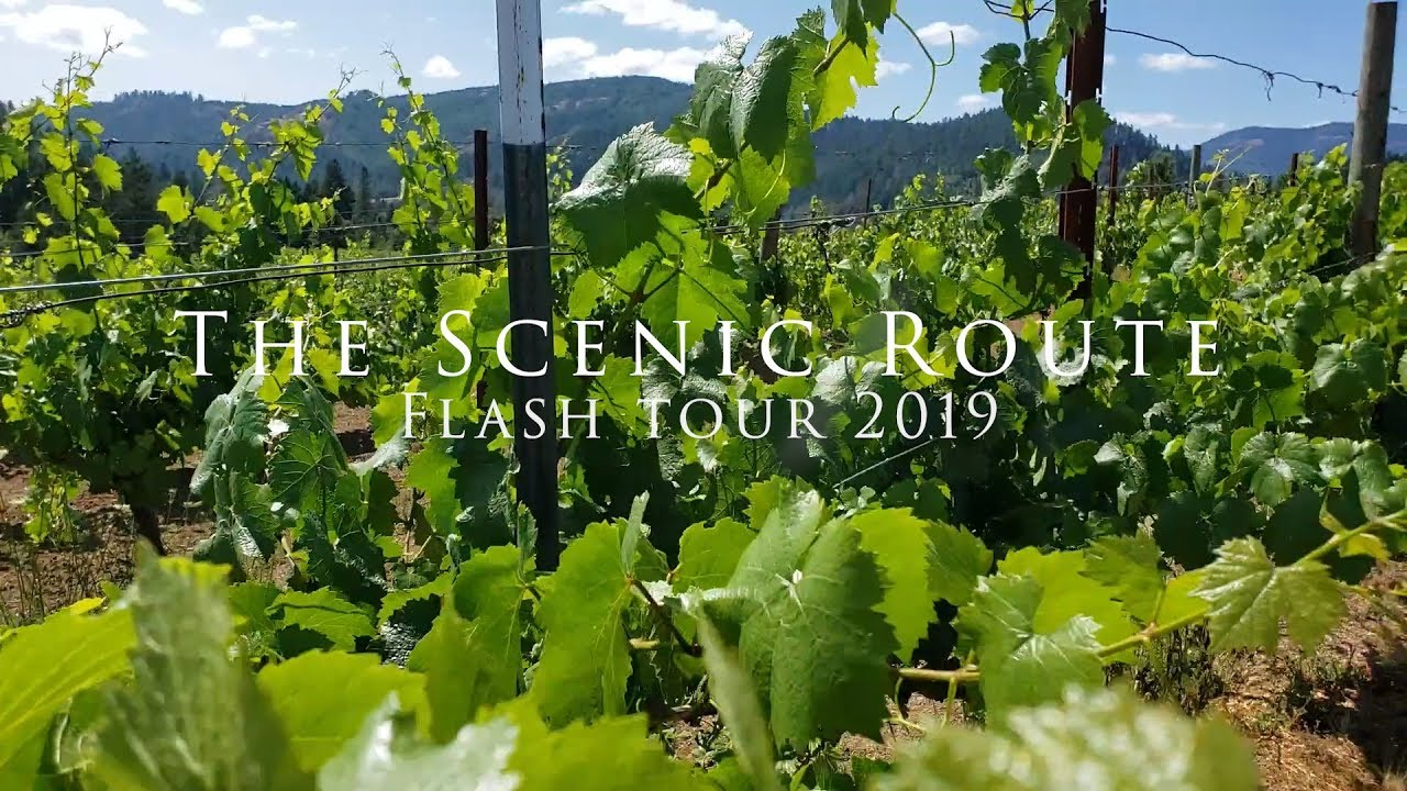 The Scenic Route - Flash Tour 2019 Day 3 Girardet Vineyards