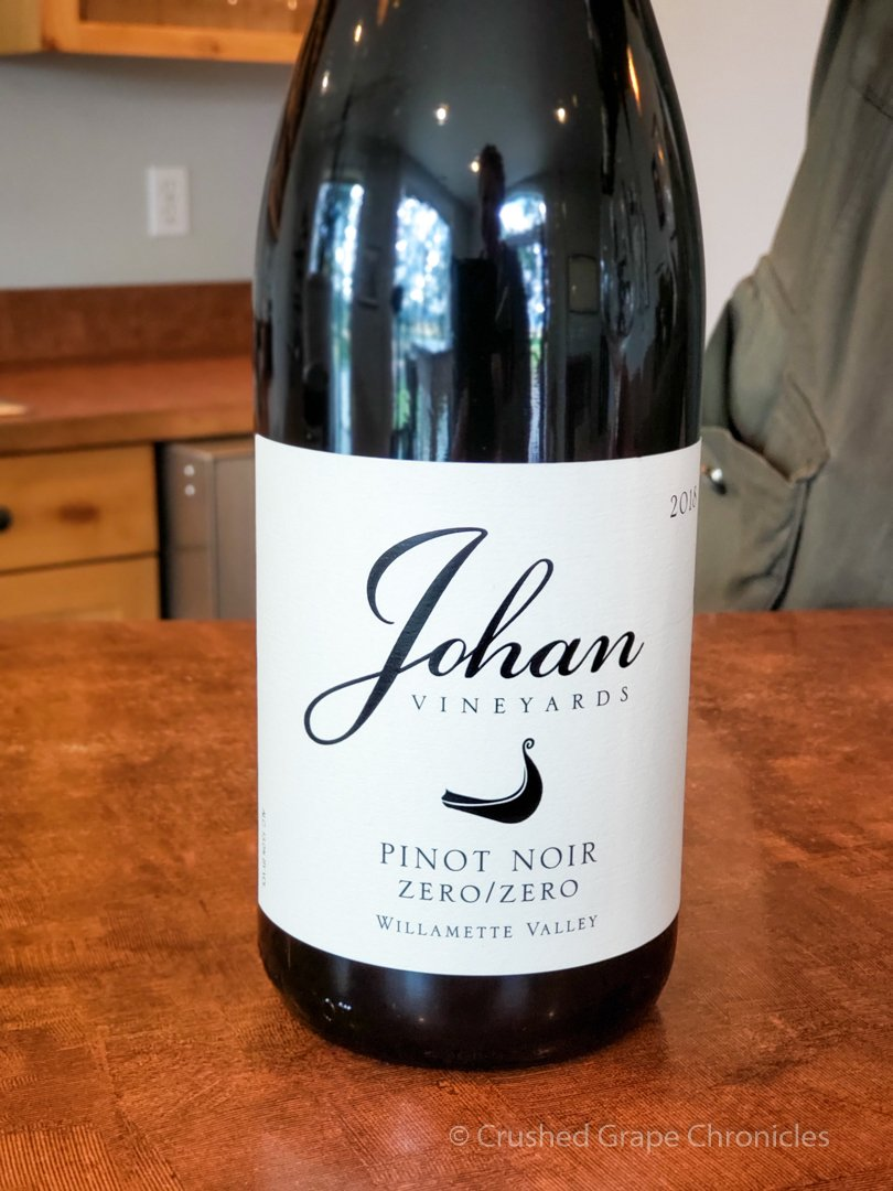 Zero / Zero Pinot Noir from Johan Vineyards