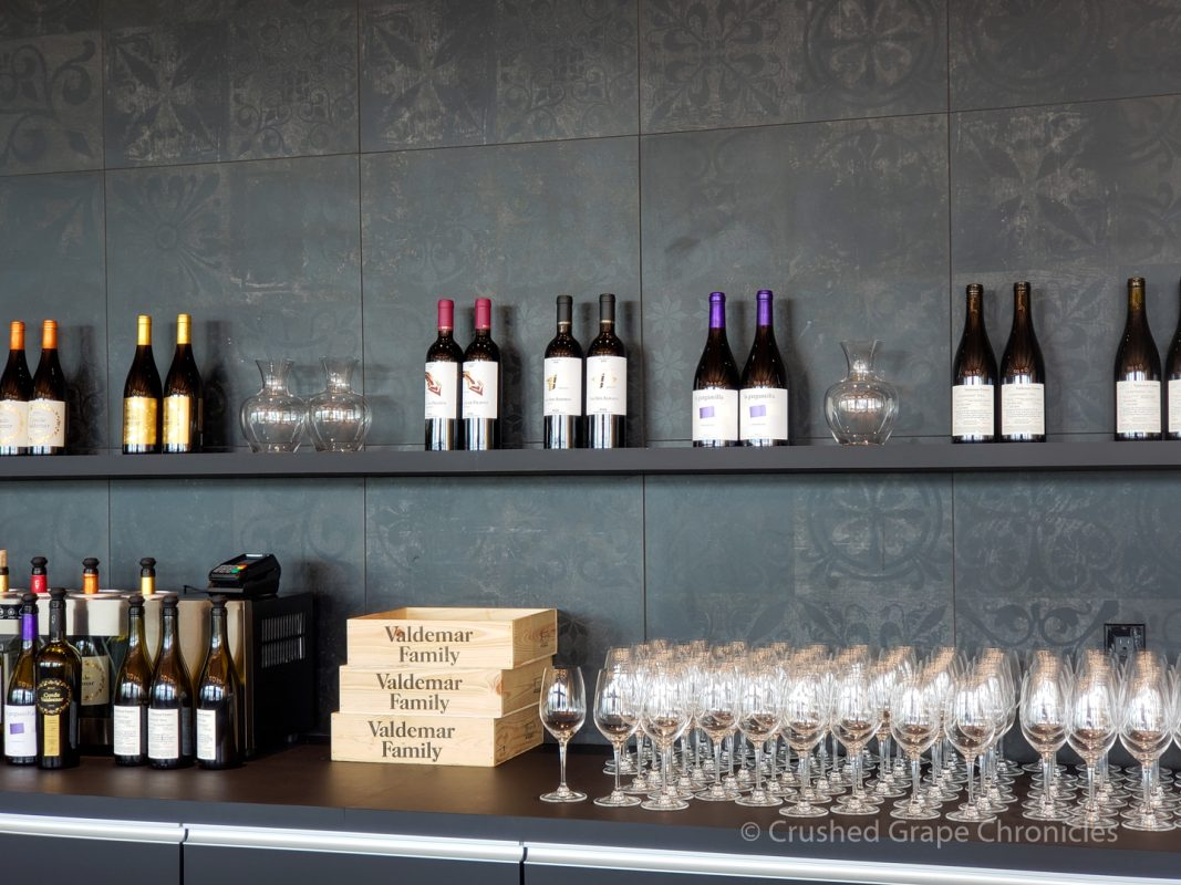 The Valdemar Estates Tasting Room