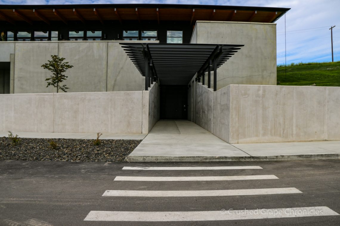 Entrance to Valdemar Estates Winery and Tasting Room
