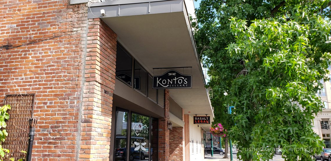 Kontos in downtown Walla Walla