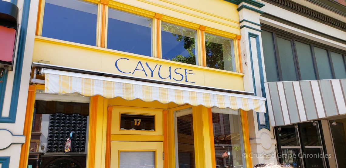Cayuse in Downtown Walla Walla