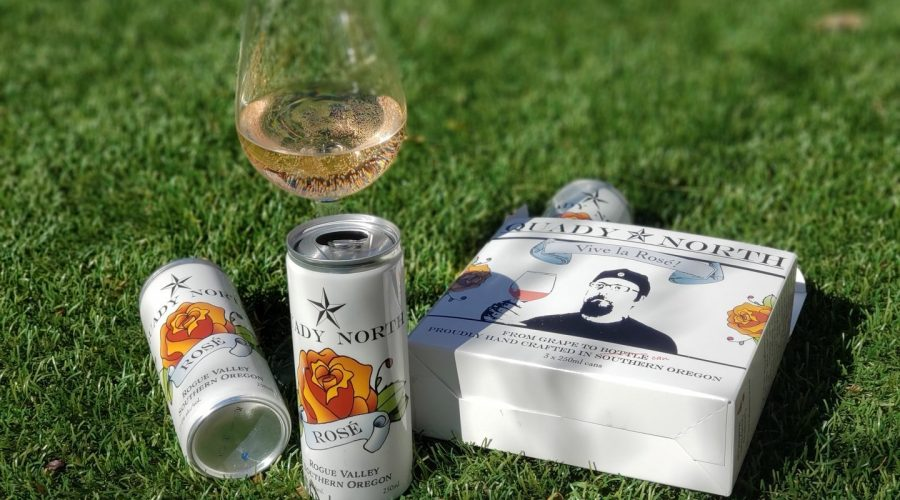 Picnic with Quady North Rose in a Can