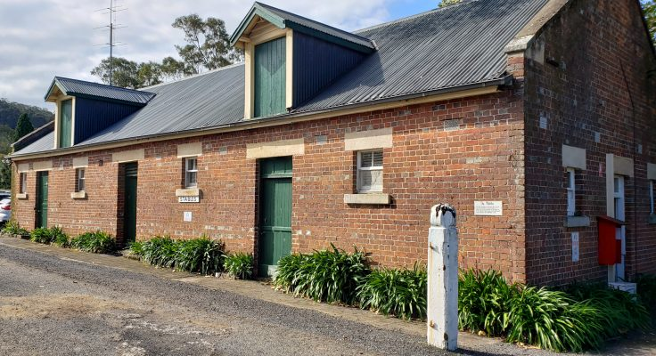 The stable building at Coolangatta Estate