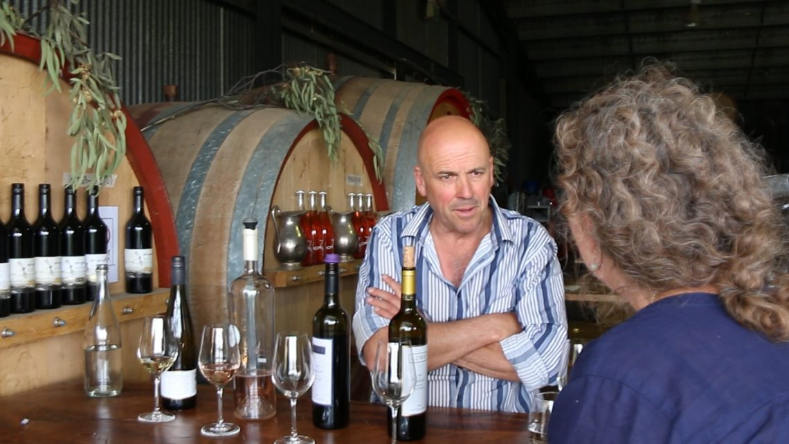 David Lowe of Lowe Winery in Mudgee Australia