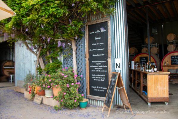 Lowe Wines in Mudgee Zinfandel Tasting Room