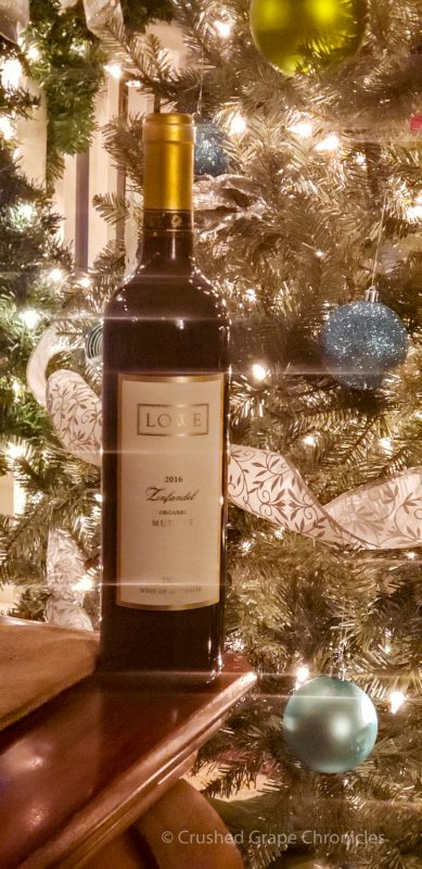 Lowe 2016 Organic Zinfandel from Mudgee Australia by the tree