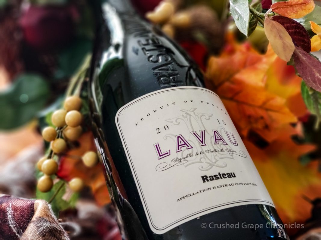 2015 Lavau Rasteau bottle shot