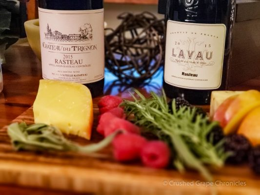 Cheese Pairing with the Rasteau Wines