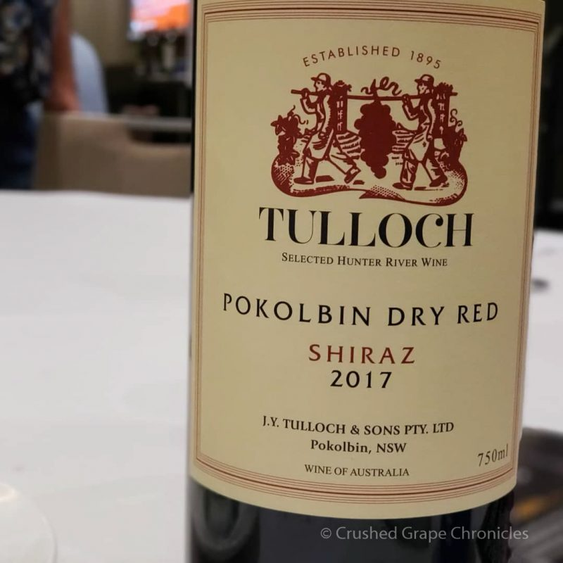 Tulloch 2017 Pokolbin Dry Red Shiraz Red Wine Social