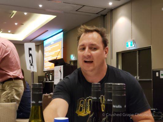 Mike De Iuliis of de iuliis wines Red Wine Social
