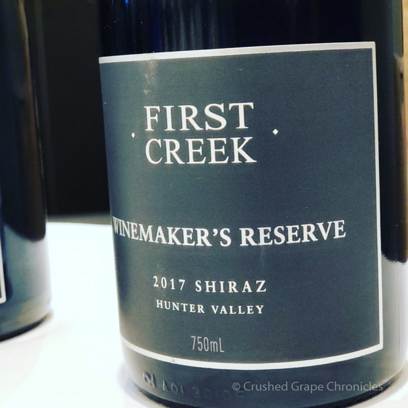 First Creek Winemaker's Reserve 2017 Shiraz Hunter Valley Red Wine Social