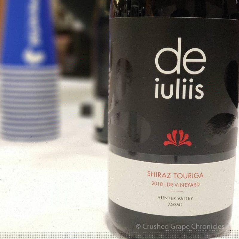 de iuliis 2018 Shiraz Touriga LDR Vineyard Red Wine Social