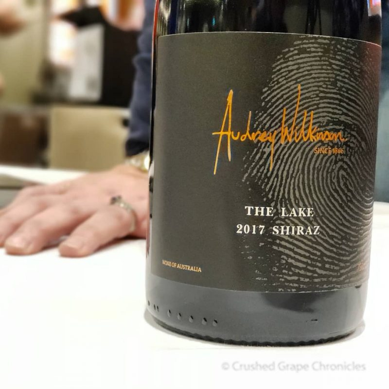 "Audrey Wilkinson 2017 ""The Lake"" Shiraz Red Wine Social"