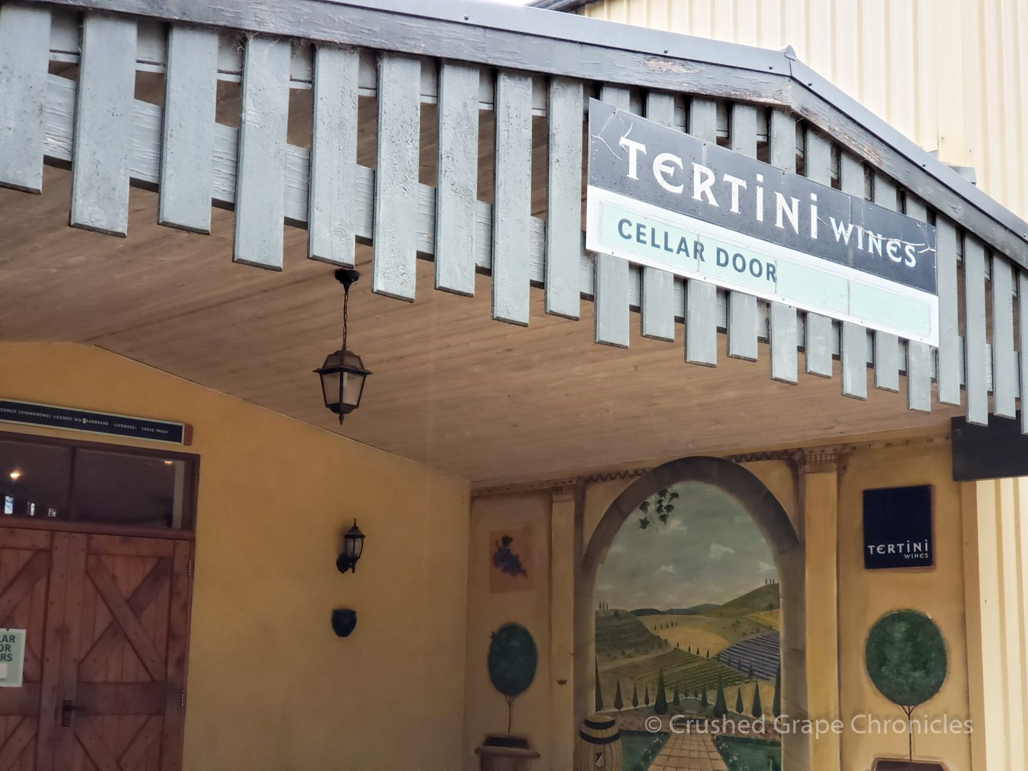 The Tertini Cellar Door near Mittagong in Southern Highlands New South Wales Australia