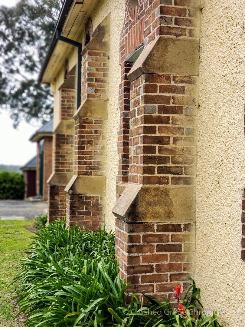 The old brick main building at Coolangatta Estate Shoalhaven Coast New South Wales Australia
