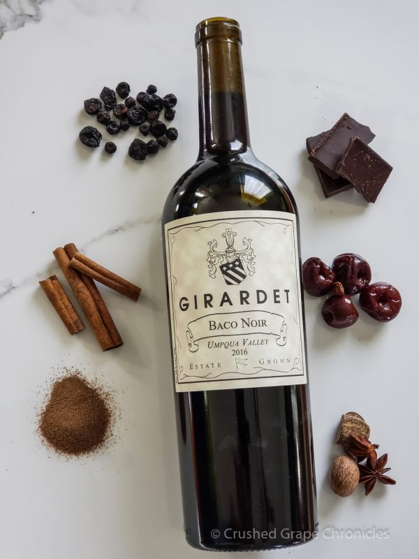 Girardet Baco Noir with aroma inspirations