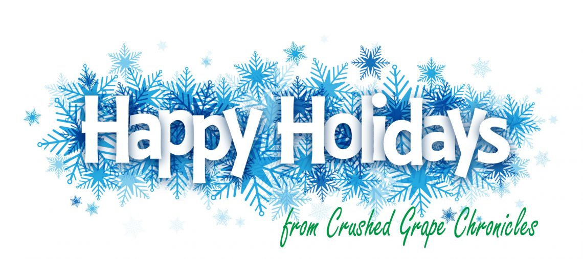 Happy-holidays from Crushed Grape Chronicles