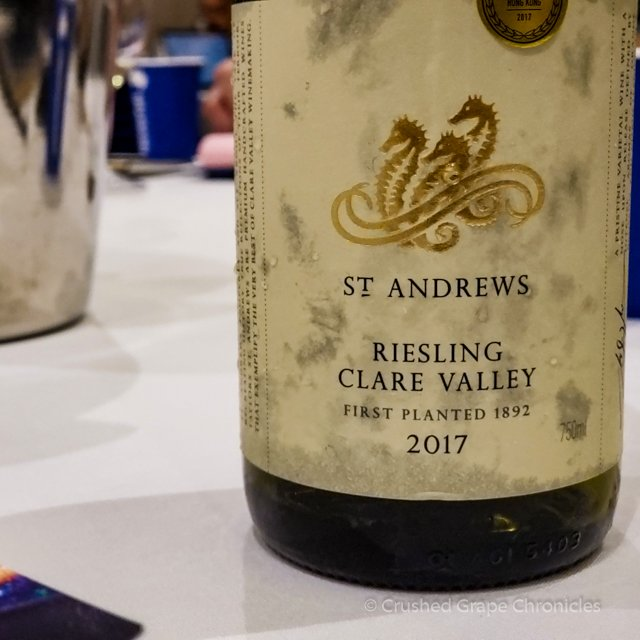 Taylor's 2017 St. Andrews Riesling, Clare Valley #WMC19 White/Rosé Social