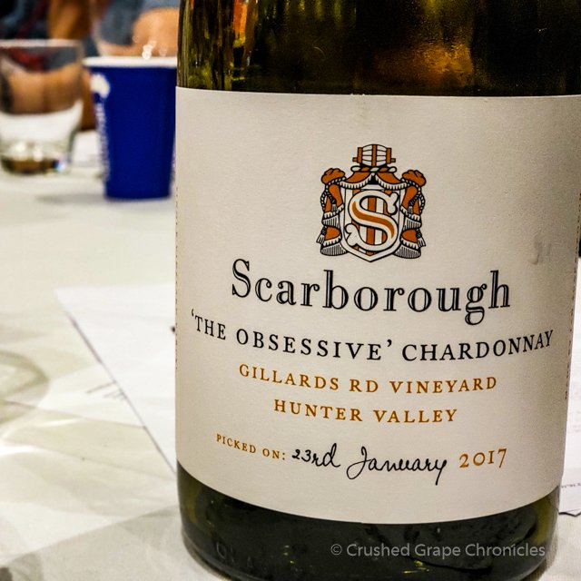 "Scarborough 2017 ""The Obsessive"" Chardonnay #WMC White/Rosé Social"