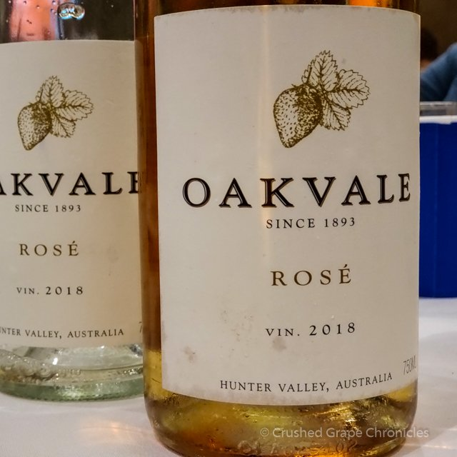 Oakvale 2018 Rosé of Shiraz #WMC19 White/Rosé Social