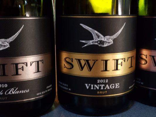 Swift sparkling wines in Orange Australia