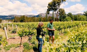Brendan Kaczorowski with Keith Tulloch Wines, Hunter Vally Australia