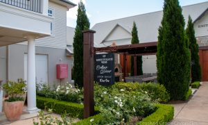 Keith Tulloch Wines in Hunter Valley Australia, a carbon neutral winery, tasting room