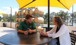 Stuart Hordern Wine Maker with Brokenwood Wines in Hunter Valley Australia