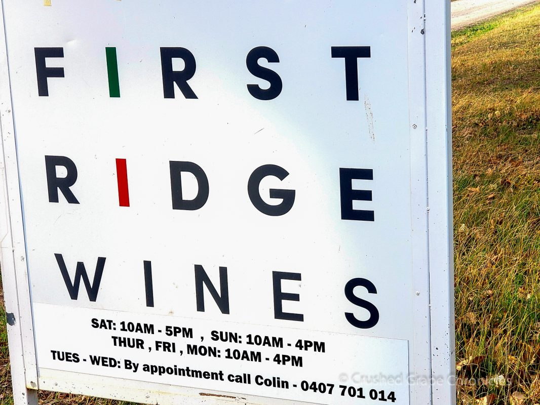 First Ridge Wines in Mudgee NSW Australia
