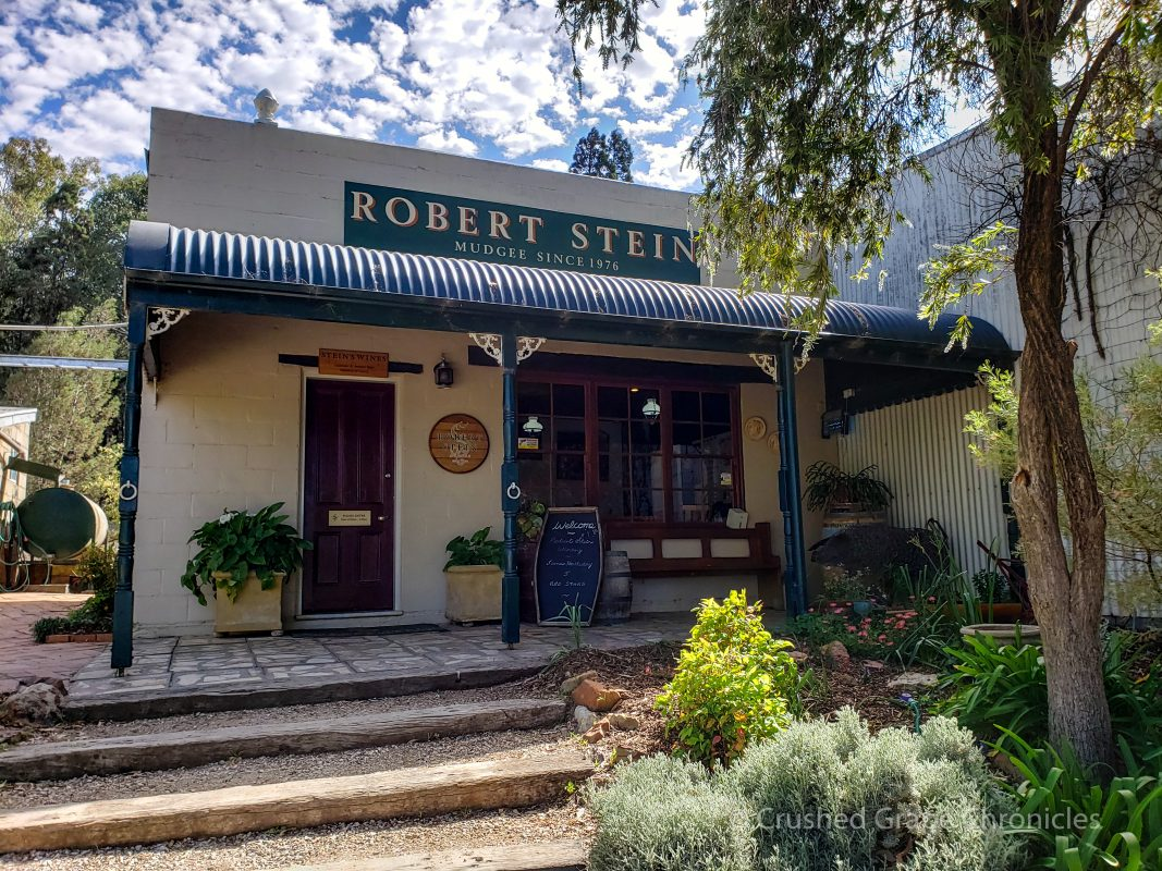 The Robert Stein Cellar Door under a beautiful sky Mudgee NSW Australia