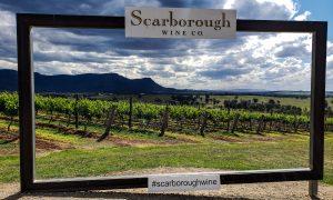 Scarbourgh Wine in Hunter Valley Australia Vineyard Social Media Spot