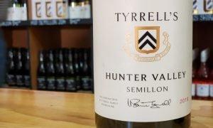 Tyrrell's Winery in Hunter Valley Australia Semillon