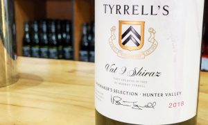 Tyrrell's Vat 9 Shiraz in Hunter Valley Australia