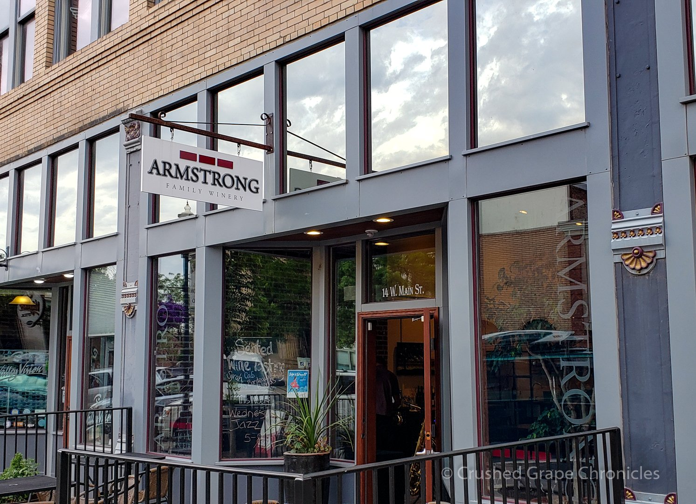 Armstrong Family Winery tasting room in Walla Walla Washington