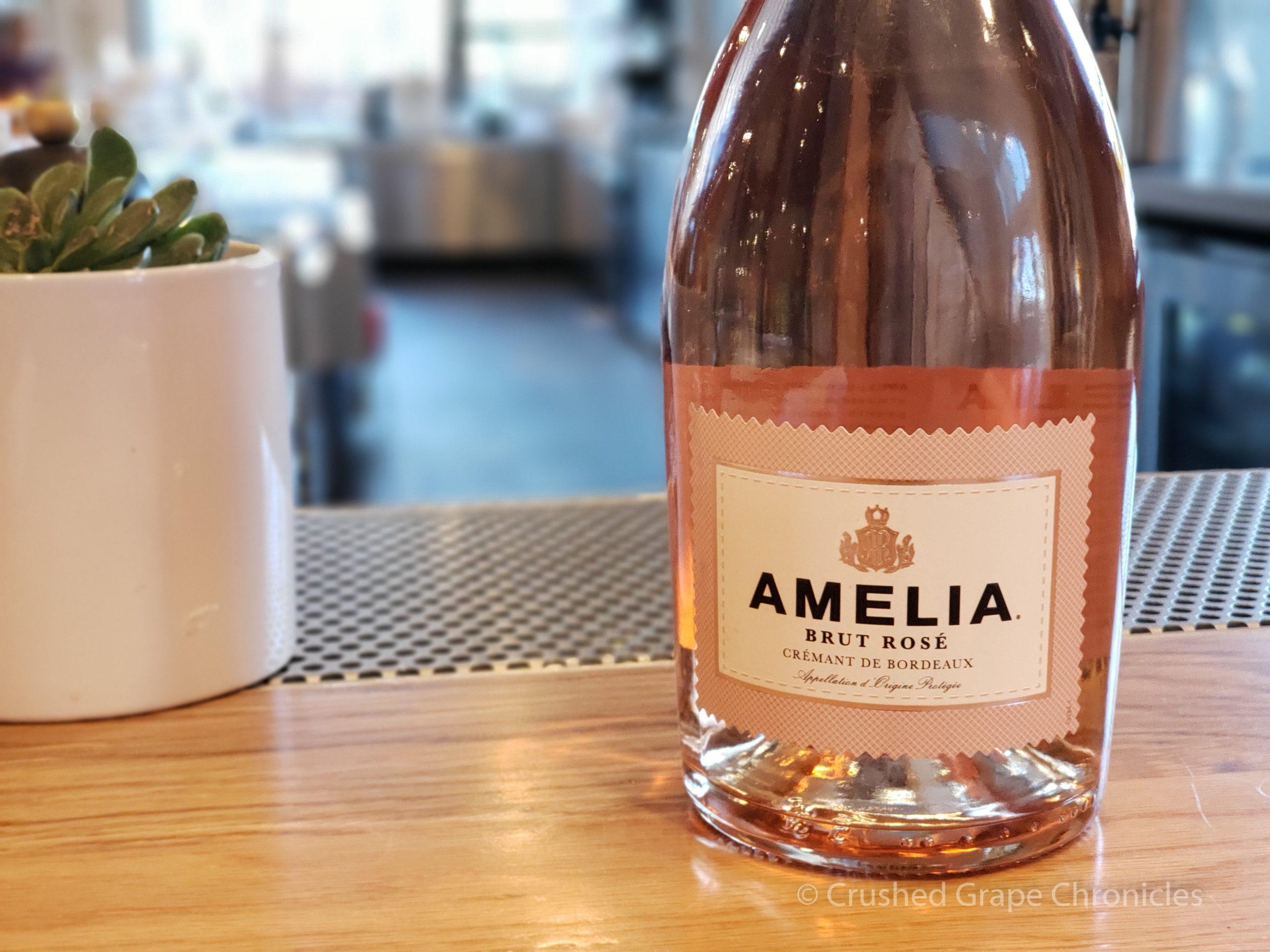 Amelia Crémant de Bordeaux Brut Rosé