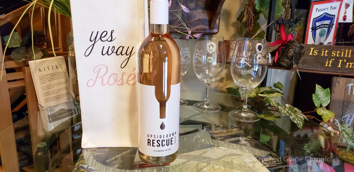 Upsidedown Wines Rescue Rosé