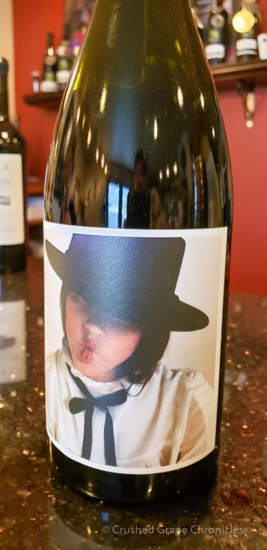 2016 Artist Series Syrah from Upsidedown Wine