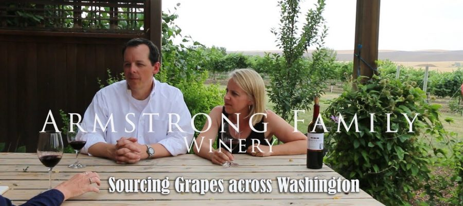 Armstrong Family Winery, Sourcing grapes across Washington