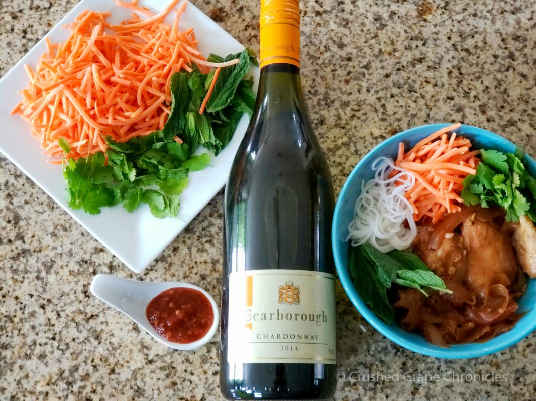 Chicken Adobo and Scarborough Chardonnay