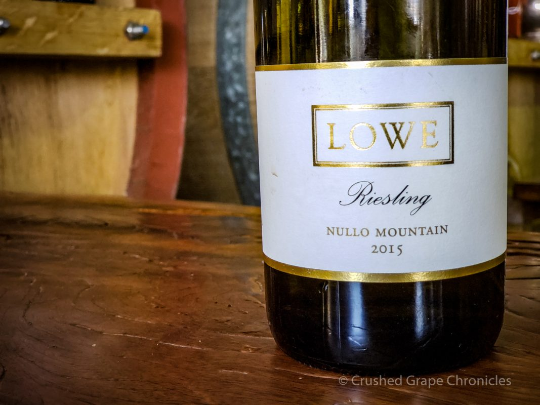 Lowe Wine 2015 Riesling Nullo Mountain