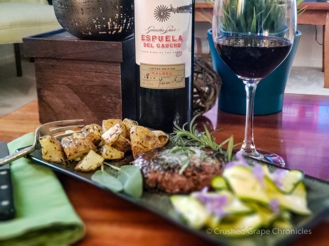World Malbec Day with a Espuela del Gaucho Malbec from Mendoza Argentina